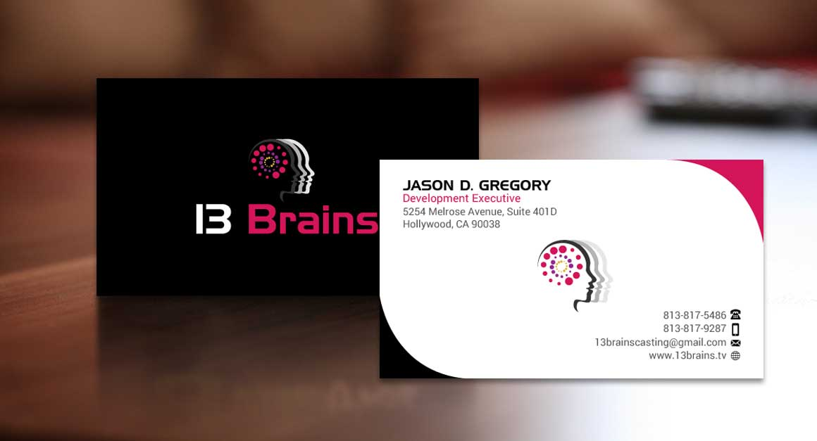standard business card design ideas