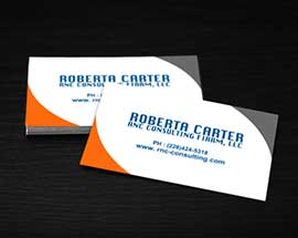 Business Card for Consulting Company