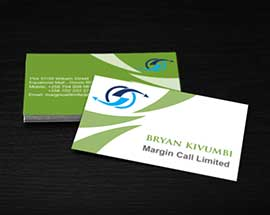 Business Card For Margin Call Limited