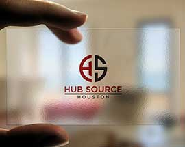 Logo Design For HubSource Company
