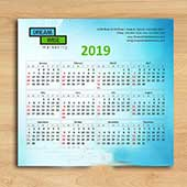 Calendar design for office