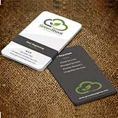 Business card design for personal