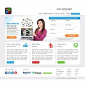 business service webdesign